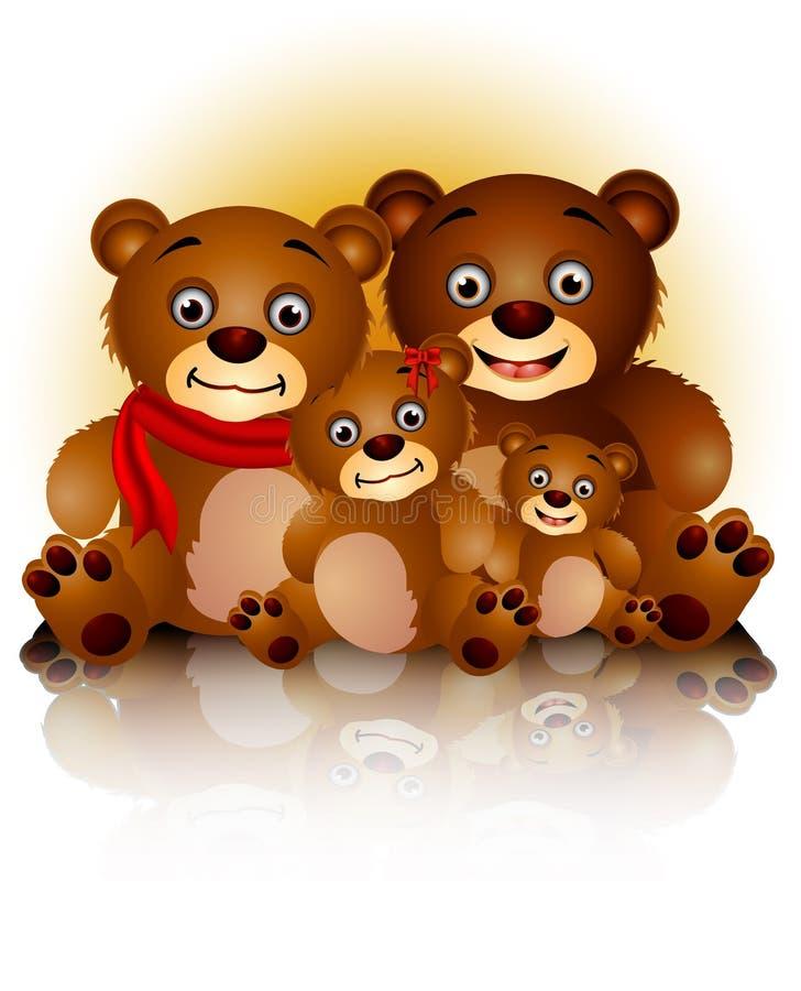 Download Happy Bear Family In Harmony Stock Photos - Image: 27618333