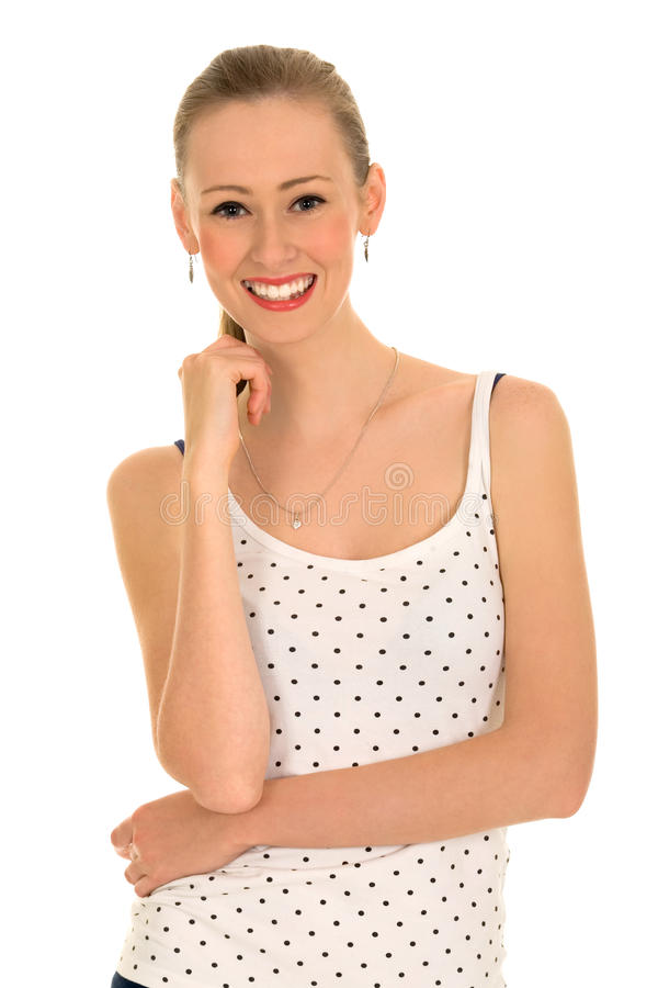 Download Happy Beautiful Girl stock image. Image of teen, toothy - 11676033