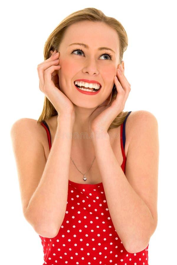 Happy Beautiful Girl Stock Images