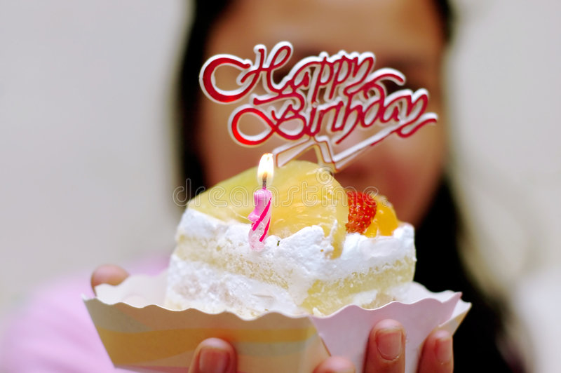 Happy birtday to you! stock image
