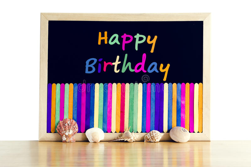 Happy birth day background. royalty free stock image