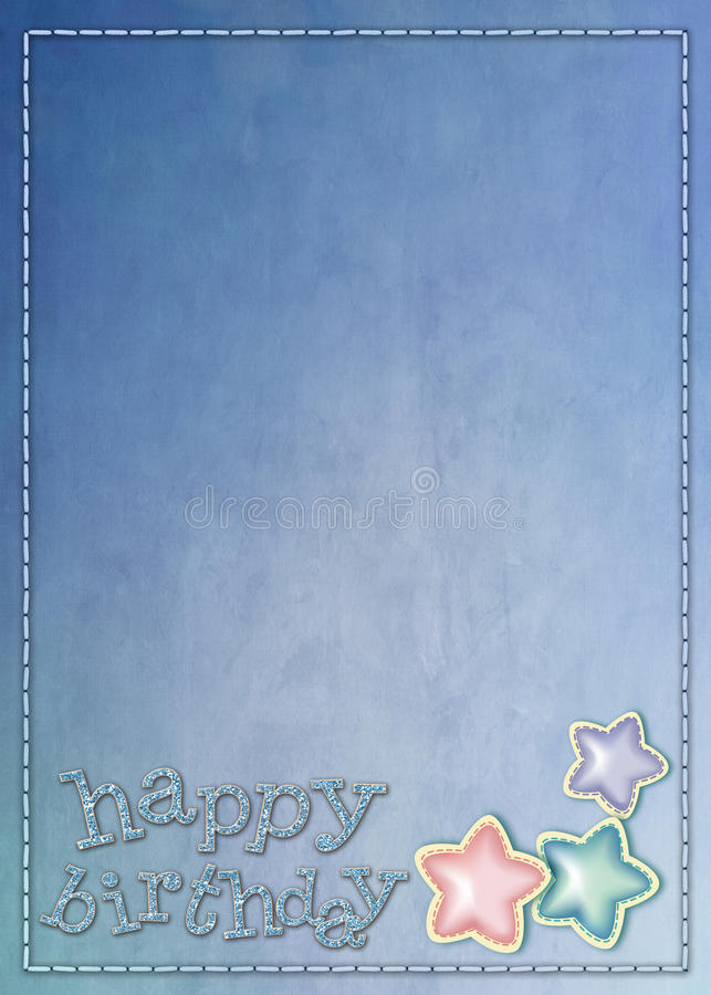 Download Happy Birthday stock illustration. Image of stock, sweet - 11771525