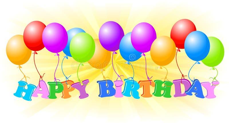 Download Happy birthday stock vector. Image of color, children - 14491730