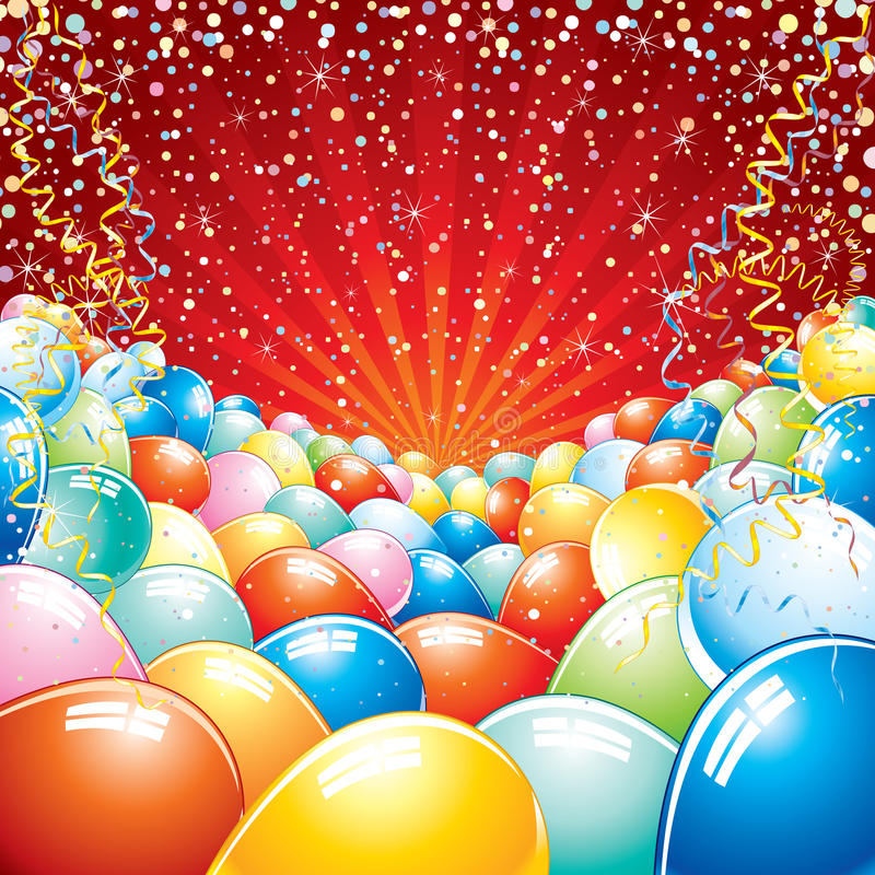 Download Happy birthday stock vector. Illustration of bunch, background - 15115109