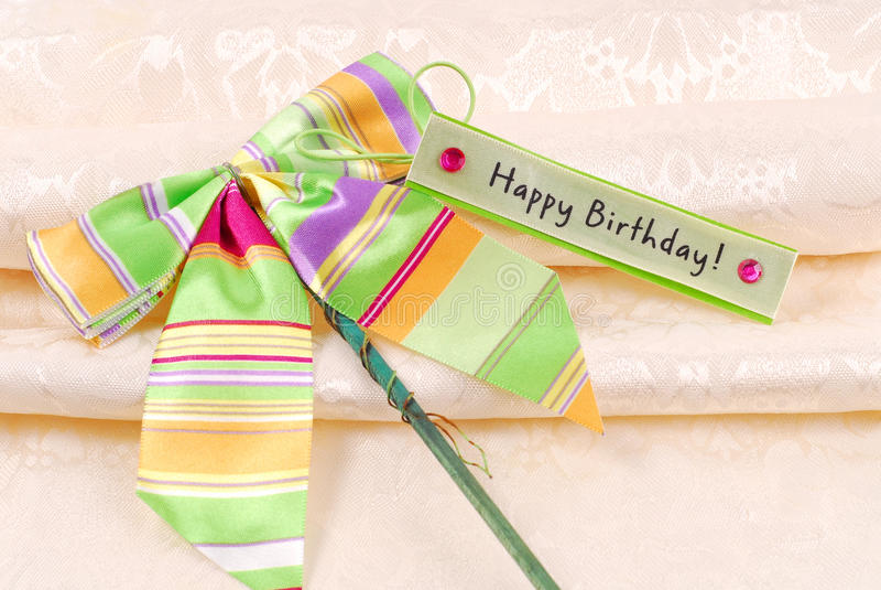 Happy Birthday. Wishing You a Happy Birthday royalty free stock images