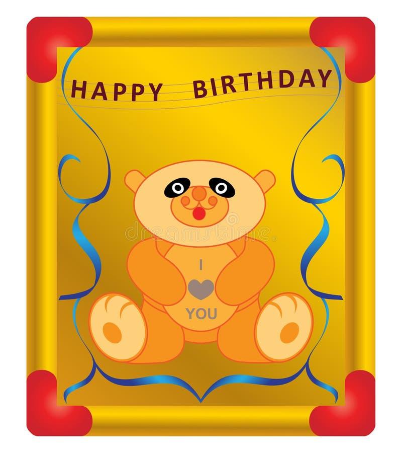 Download Happy birthday stock vector. Image of birthday, card - 20627185