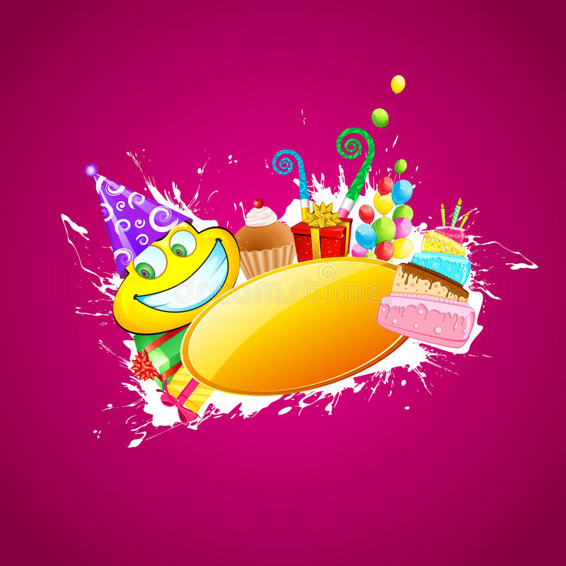 Happy Birthday vector illustration