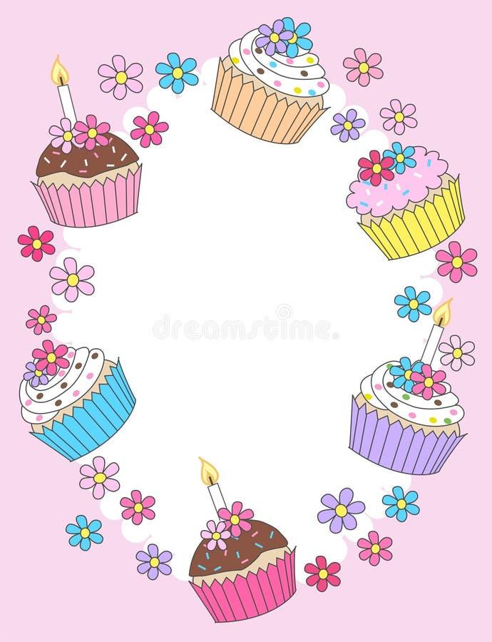 Download Happy birthday stock vector. Illustration of border, cards - 25013181