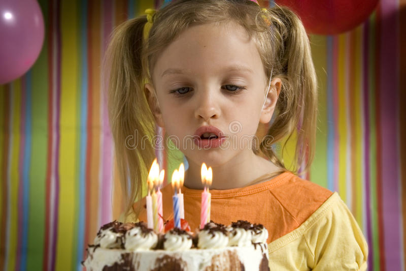 Download Happy Birthday stock image. Image of celebration, blow - 26287223