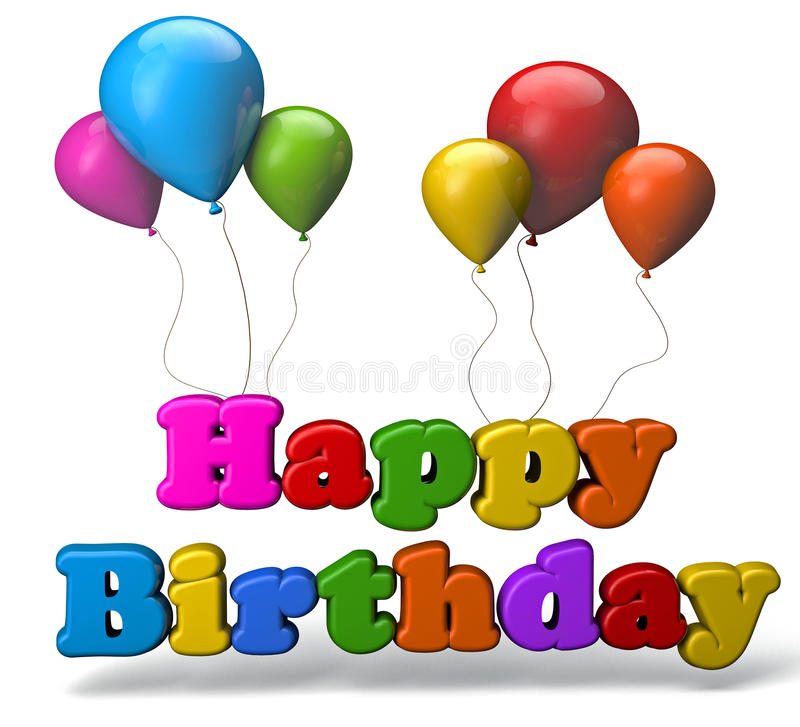 Free Happy Birthday Royalty Free Stock Photo - 43133305
