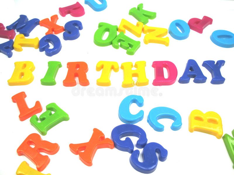 Happy birthday. To you all royalty free stock image