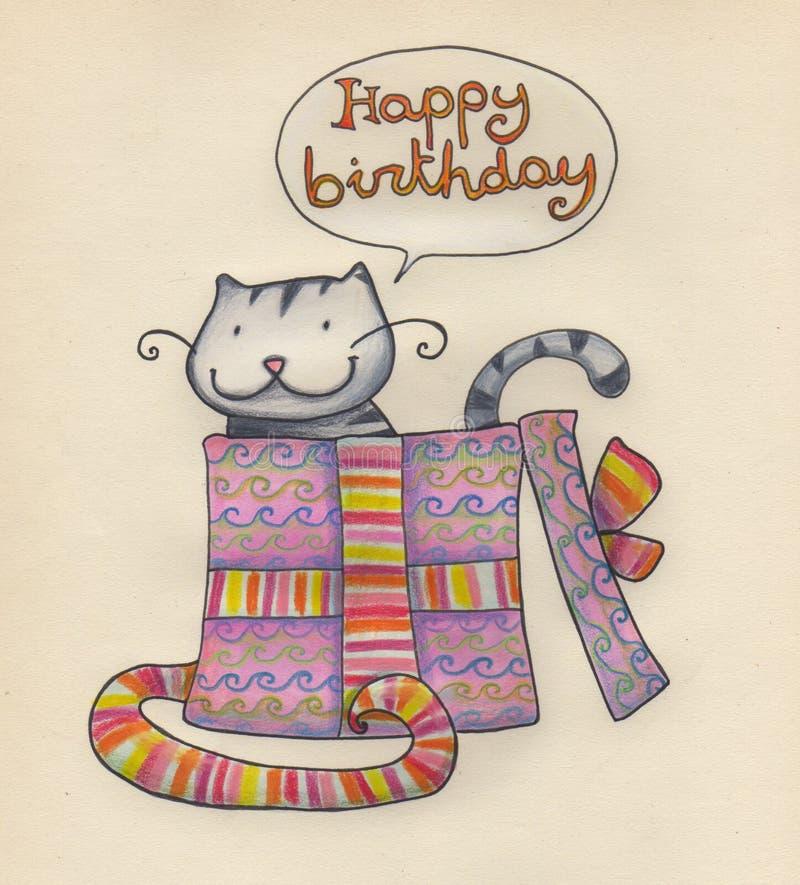 Download Happy birthday stock illustration. Image of pack, celebration - 8431289