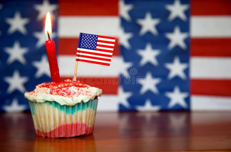 Happy Birthday America! (left) royalty free stock photography
