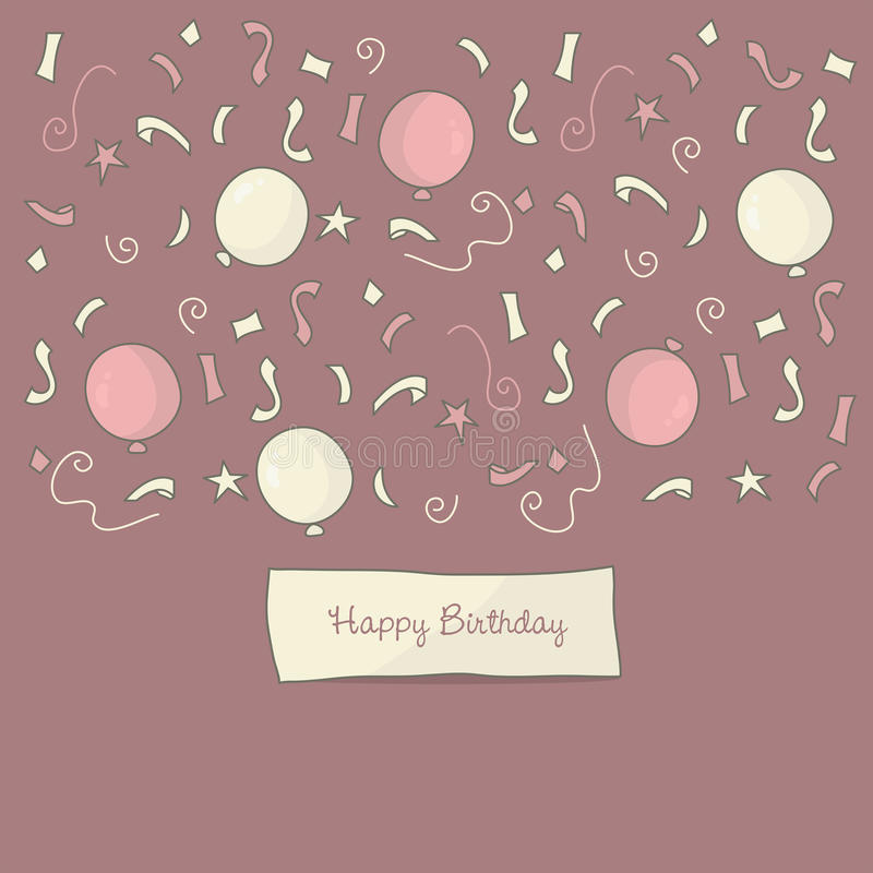 Download Happy Birthday background stock vector. Illustration of background - 22626833