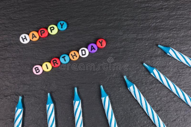Happy birthday background royalty free stock photography