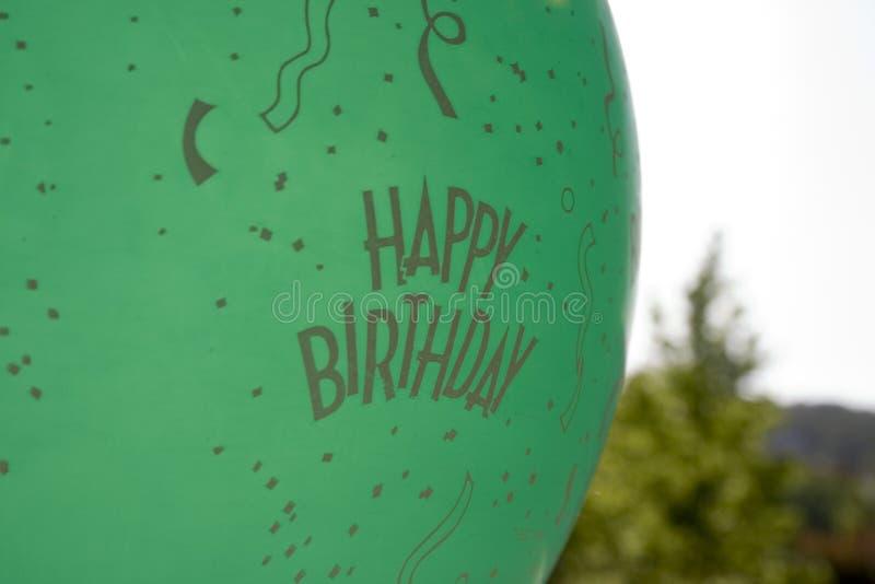 Download Happy Birthday Balloon stock photo. Image of balloon, birthday - 793290