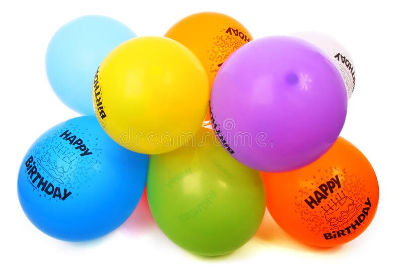 Happy Birthday Balloons Free Public Domain Cc0 Image