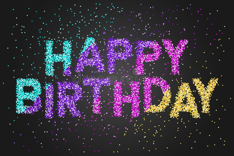 35 926 Happy Birthday Black Background Photos Free Royalty Free Stock Photos From Dreamstime