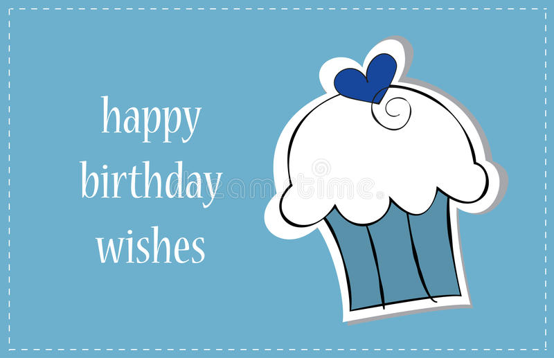Happy Birthday Boy royalty free illustration