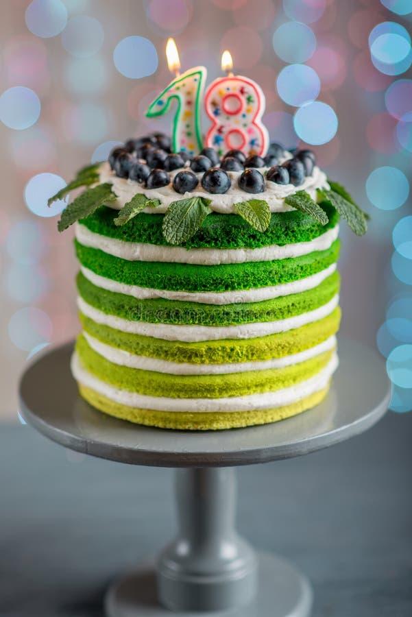Happy Birthday Cake Stock Photo Image Of Decoration 49568010