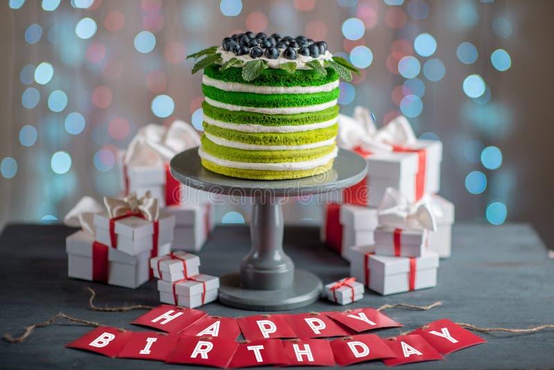 Happy Birthday Cake Stock Photo Image Of Delicious Festive 49564574
