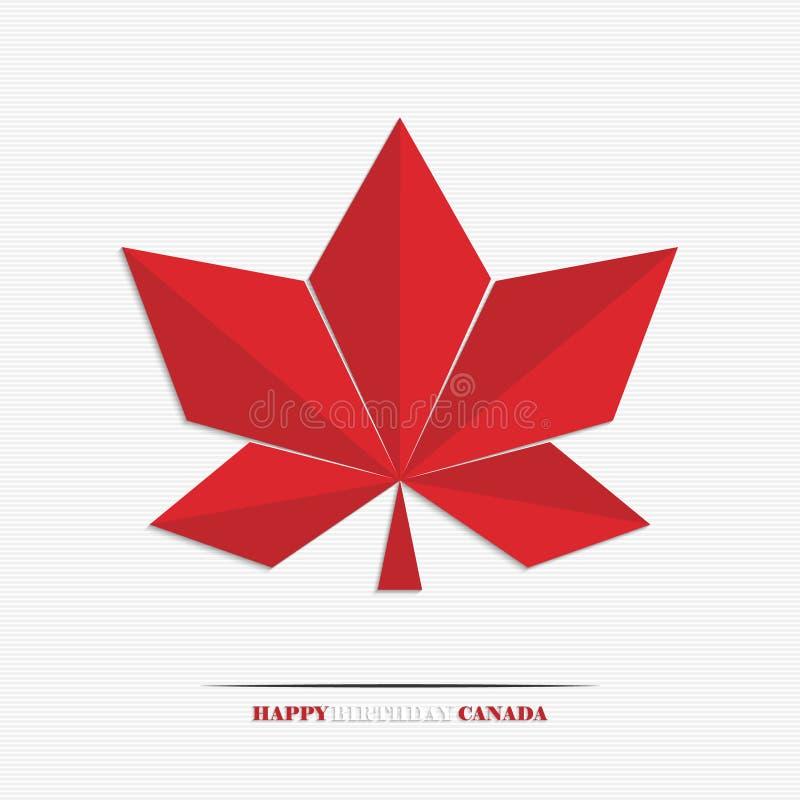 Download Happy Birthday Canada stock vector. Illustration of canadian - 41731845