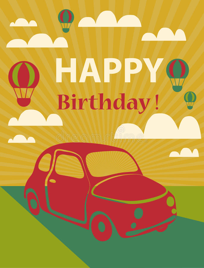 Free Happy Birthday Card Royalty Free Stock Images - 42670339