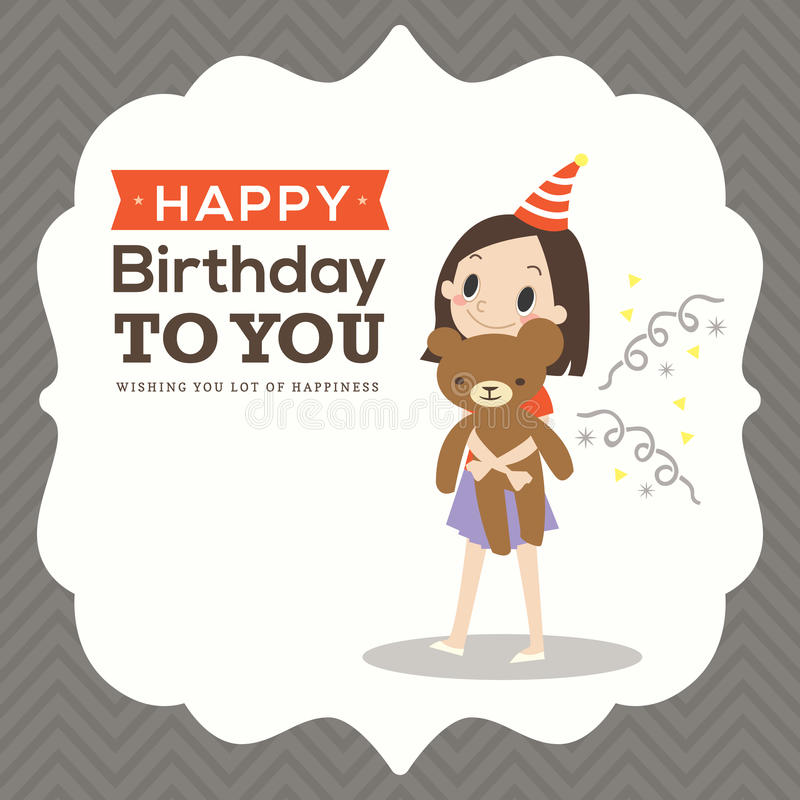 Happy birthday card with kid cartoon stock vector illustration of download happy birthday card with kid cartoon stock vector illustration of illustration birthday bookmarktalkfo Choice Image