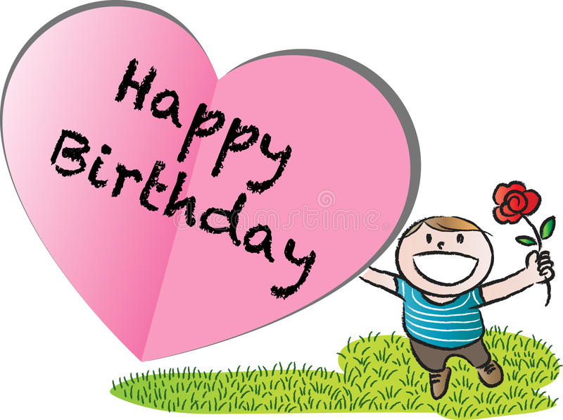Happy birthday card stock illustration illustration of love 50852161 download happy birthday card stock illustration illustration of love 50852161 bookmarktalkfo Images