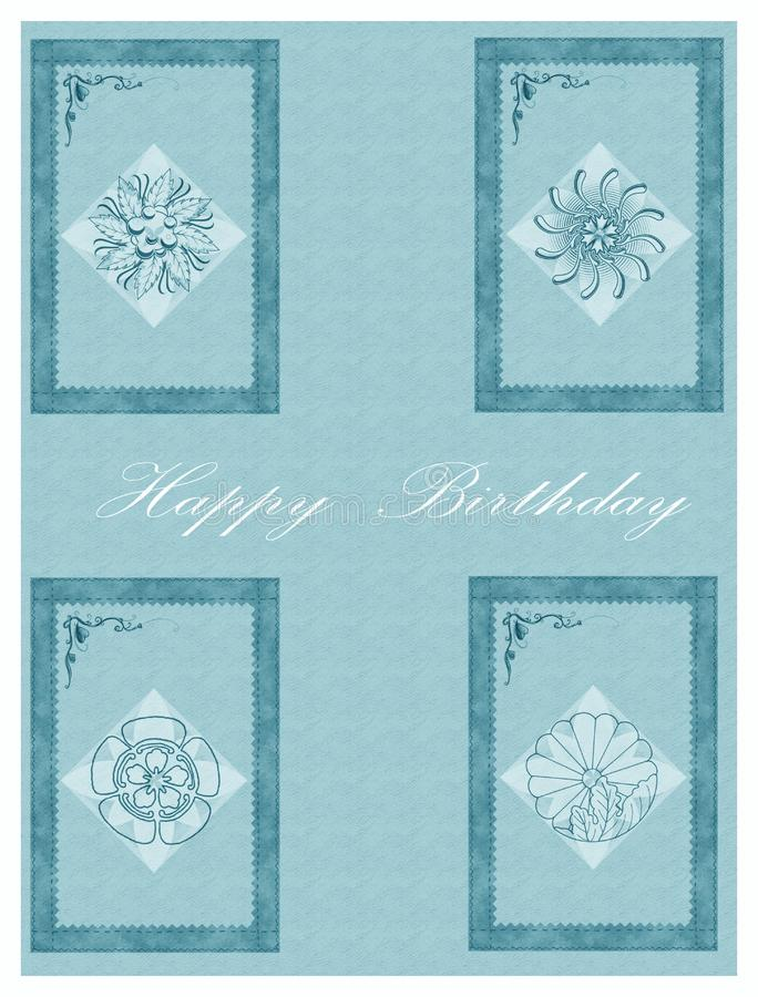 Download Happy birthday cards stock illustration. Illustration of illustration - 8734506