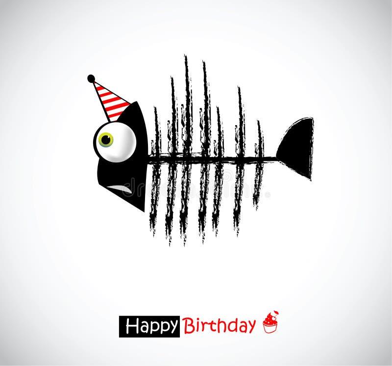 Happy birthday cards fish stock illustration illustration of bone download happy birthday cards fish stock illustration illustration of bone 41963016 bookmarktalkfo Gallery