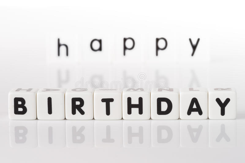 Happy Birthday Concept stock image