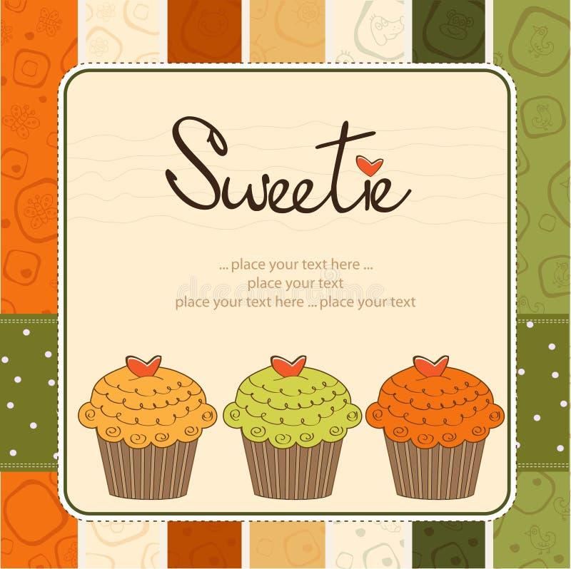 Happy Birthday Cupcakes Royalty Free Stock Photos
