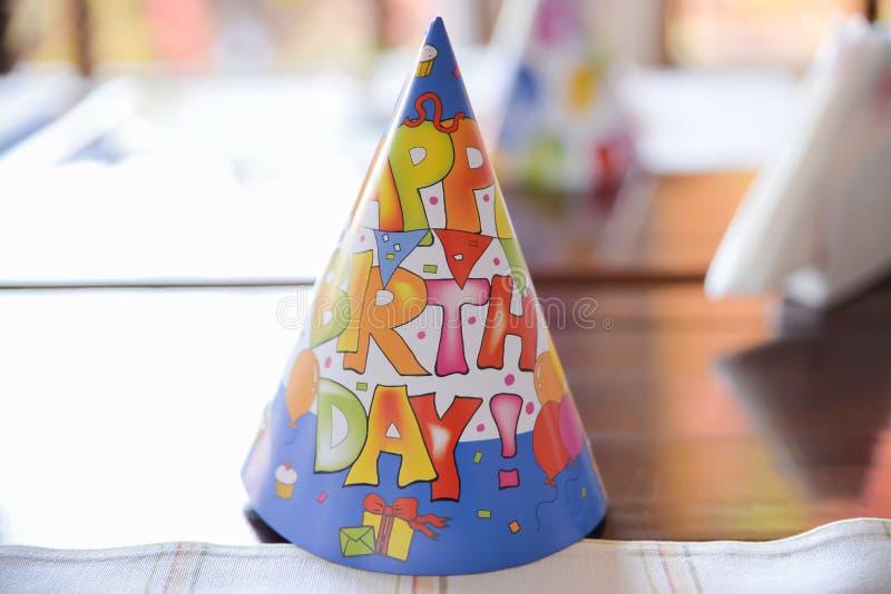 Happy birthday decoration royalty free stock photos