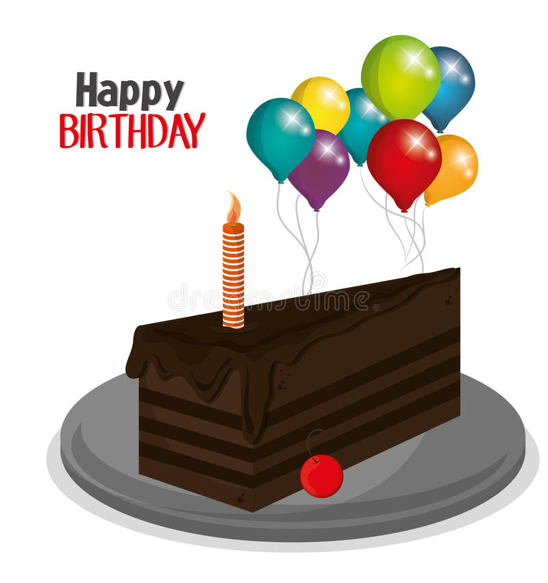 Happy birthday design. Happy Birthday concept with icon design, vector illustration 10 eps graphic vector illustration