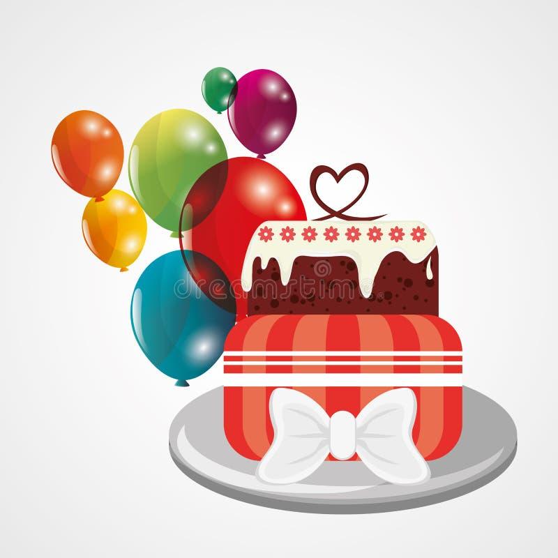 Happy birthday design. Happy Birthday concept with icon design, vector illustration 10 eps graphic stock illustration