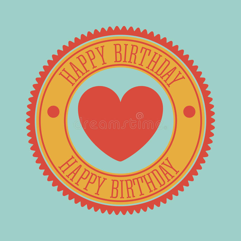 Download Happy birthday stock vector. Illustration of adorable - 39672863