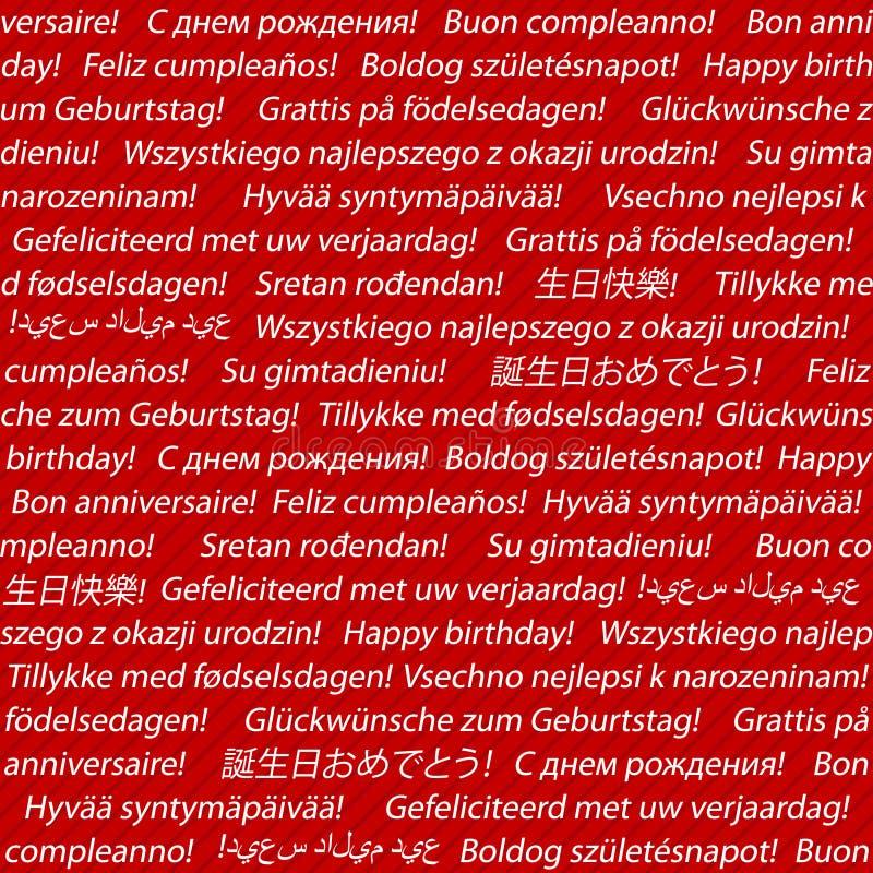 Поздравление с днём рождения на всех языках мира 31