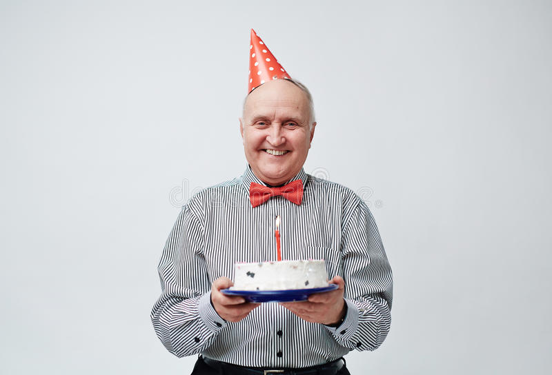 Happy birthday grandpa stock photos