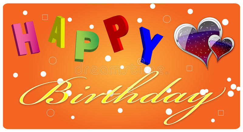 Download Happy Birthday Greeting Card Royalty Free Stock Photo - Image: 16505185
