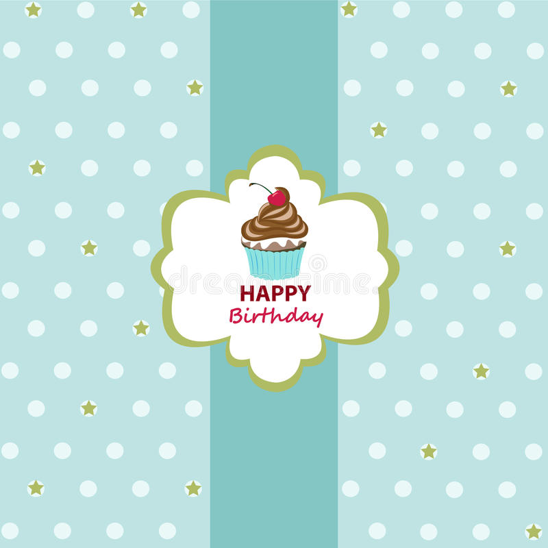Download Happy Birthday Greeting Card Stock Vector - Image: 32836411