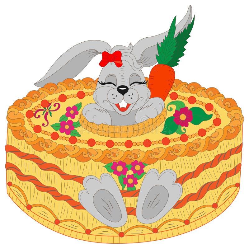 Happy Birthday Greeting Card Happy Birthday Cute Rabbit With
