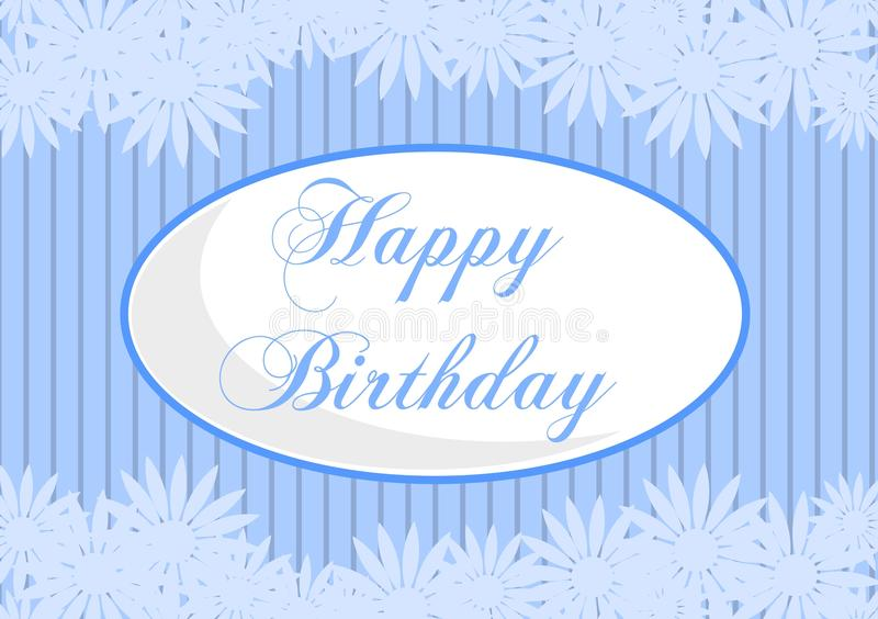 Happy birthday greeting cards royalty free stock photo