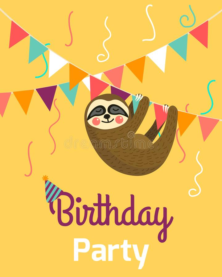 Happy birthday greeting templates invitation cards to the party download happy birthday greeting templates invitation cards to the party vector banner with cute stopboris Images