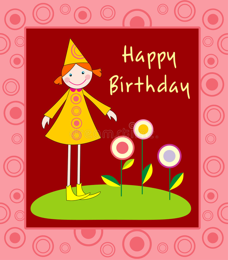 Download Happy Birthday Illustration Stock Vector - Image: 4883613