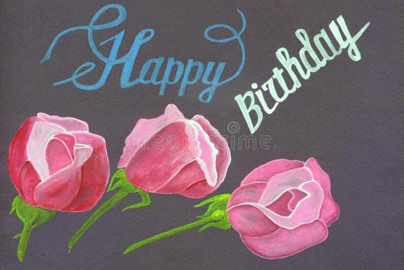 WONDERFUL COLOURFUL GARDENING RELATED HAPPY BIRTHDAY GREETING CARD