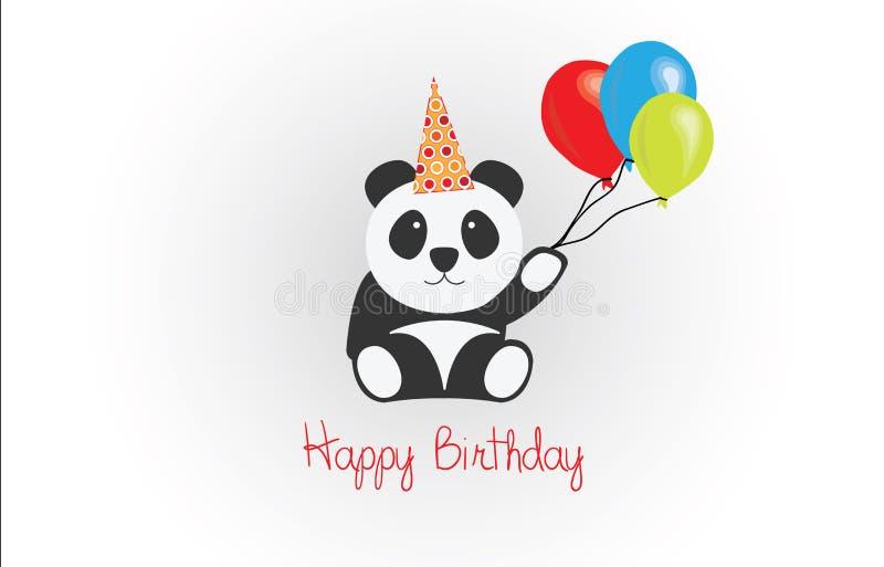 Happy birthday panda vector stock vector illustration of simple download happy birthday panda vector stock vector illustration of simple animal 48815208 bookmarktalkfo Choice Image