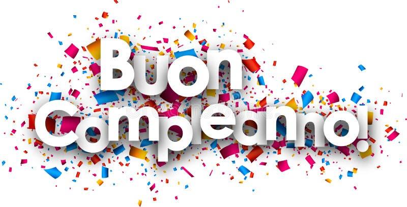 Happy Birthday Italian Stock Illustrations 445 Happy Birthday Italian Stock Illustrations Vectors Clipart Dreamstime