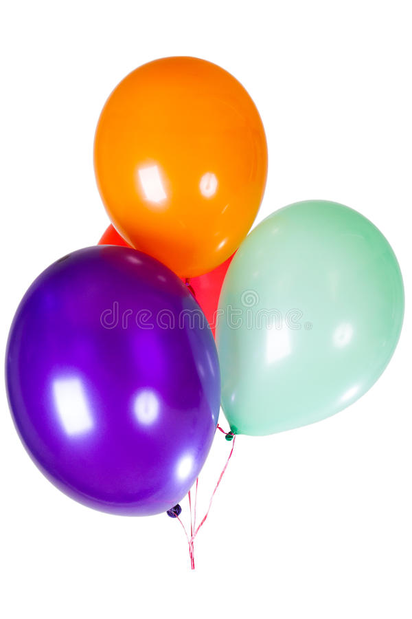 Happy birthday party balloon decoration stock image for 7 star balloon decoration