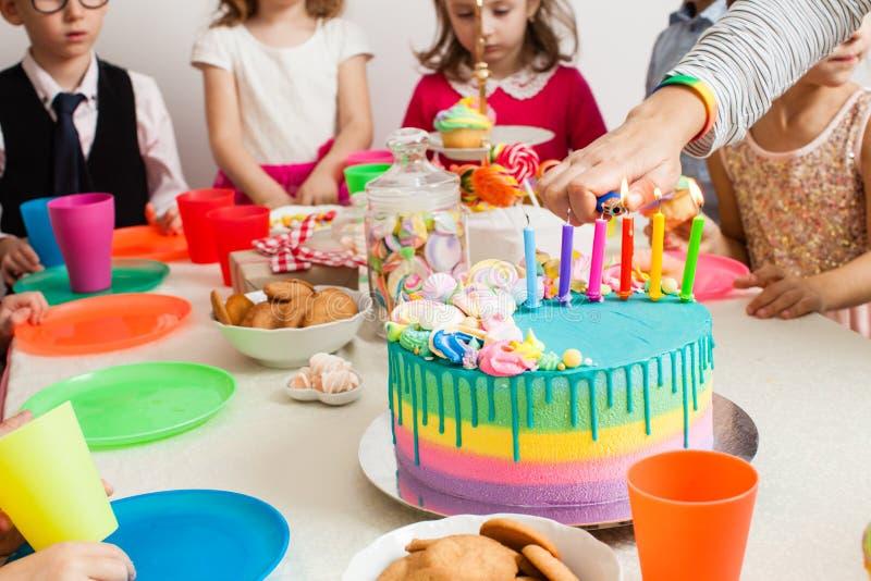Happy birthday party royalty free stock photos